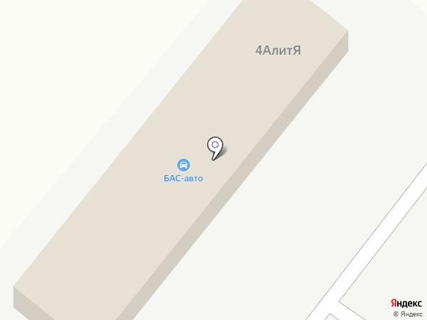 БАС-авто на карте Астрахани