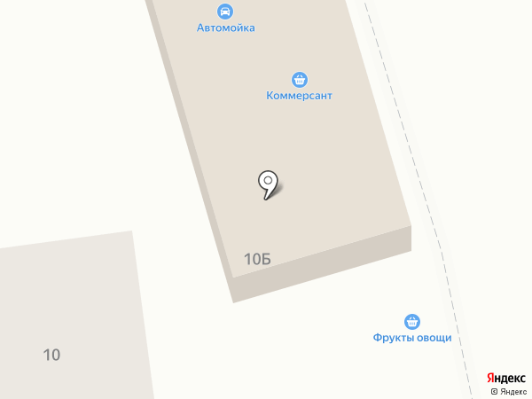 Коммерсант на карте Осыпного Бугра