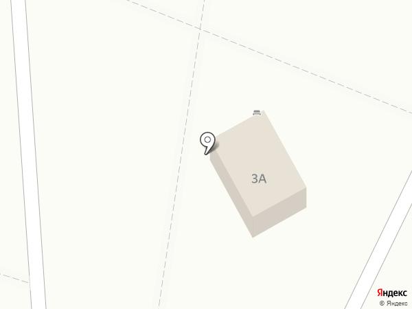 Продуктовый магазин на Звёздной на карте Астрахани