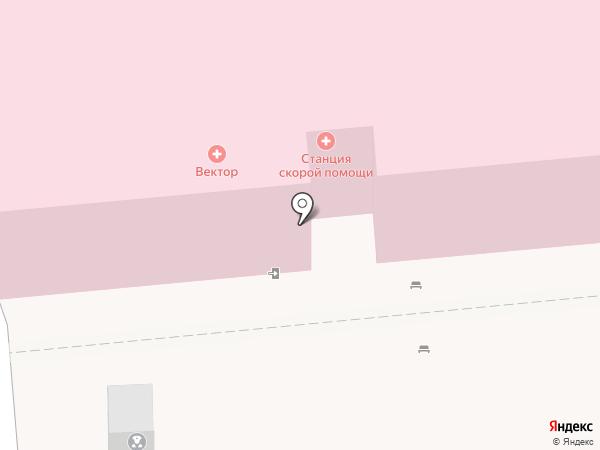 Консультационная служба станции скорой медицинской помощи на карте Астрахани