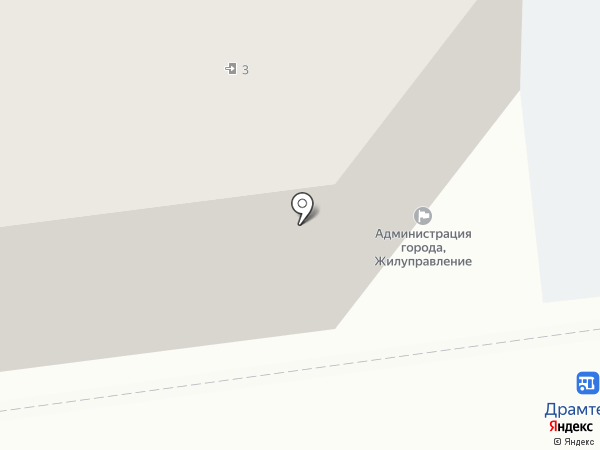 Жилищное Управление Администрации г. Астрахани на карте Астрахани