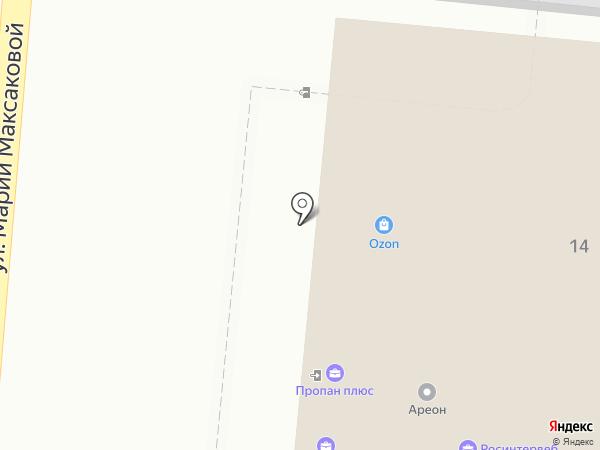 Курьер-Сервис Астрахань на карте Астрахани