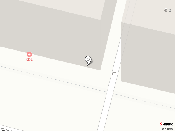 KDL на карте Астрахани
