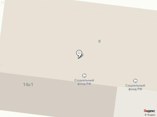 Управление пенсионного фонда РФ в Ленинском районе г. Астрахани на карте Астрахани