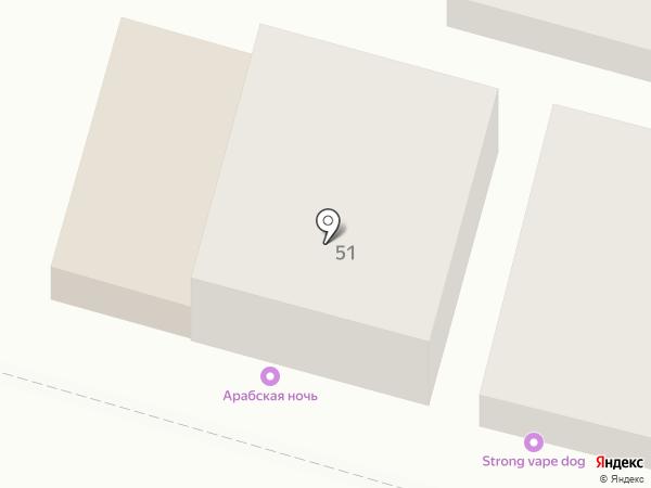 Феникс на карте Астрахани