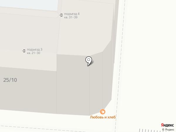 Мой Вояж на карте Астрахани