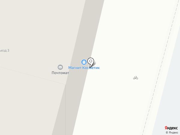 Даирчик-ДЖУНГЛИ на карте Астрахани