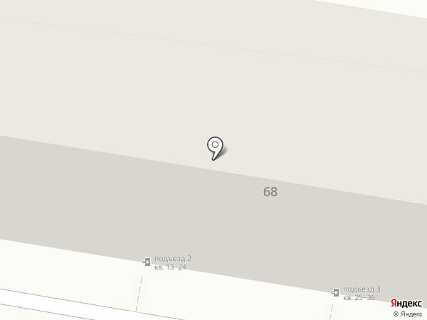 АКБ Росбанк на карте Астрахани