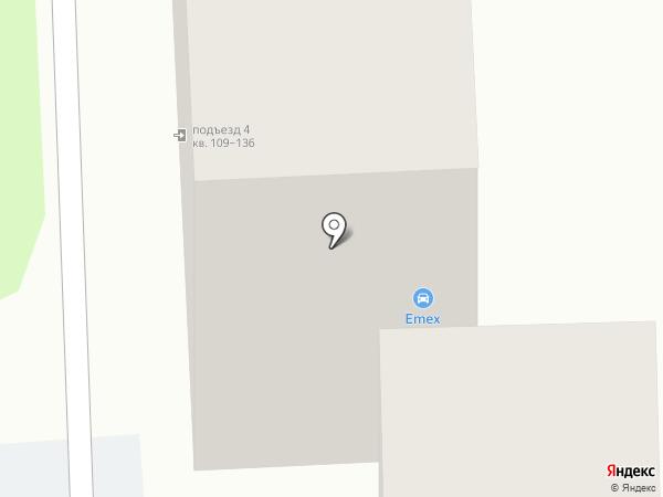Пожарная кружка на карте Астрахани