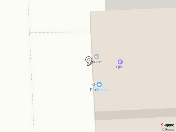 Нитриум на карте Астрахани
