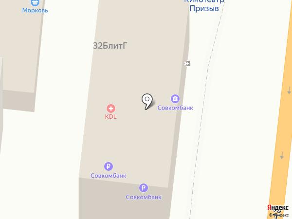 Банкомат, Банк ФК Открытие, ПАО на карте Астрахани