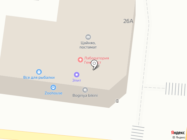 Даниэль на карте Астрахани