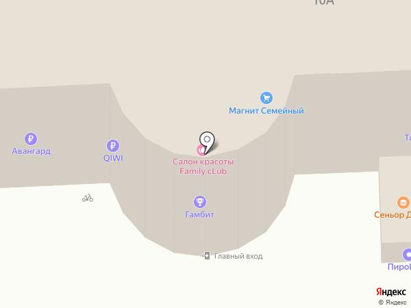 БадаБум на карте Астрахани