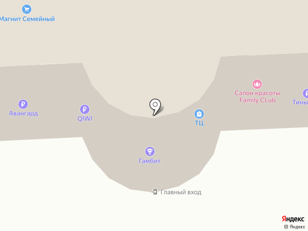 Мэйли дэ Шоу на карте Астрахани