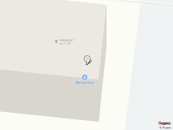 Нику на карте Астрахани