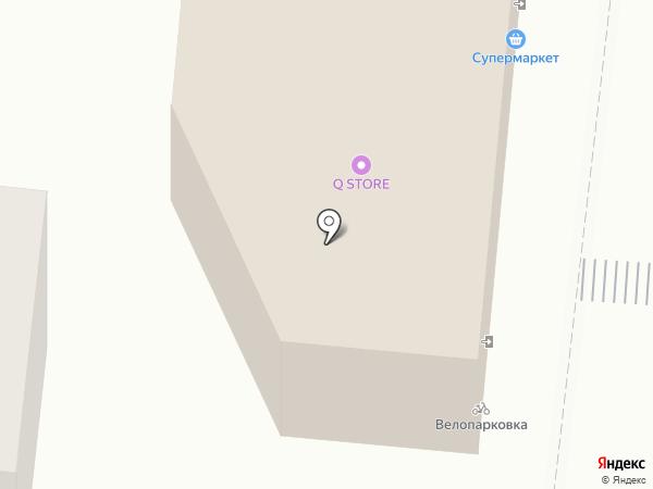 Даир на карте Астрахани
