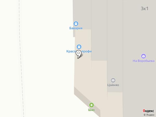 Ми лу на карте Астрахани