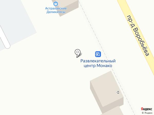 Шаурма на карте Астрахани