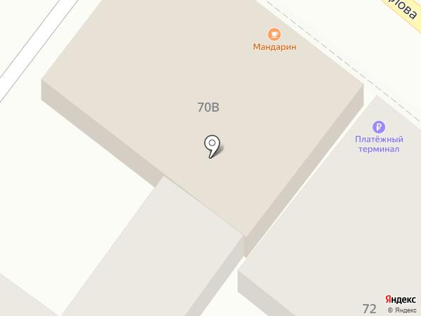 Банкетный зал на карте Астрахани