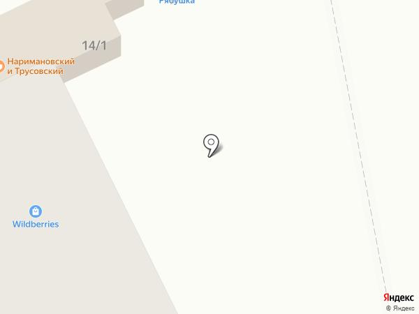 Иринка на карте Астрахани