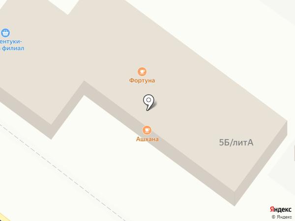 Ессентуки-Аква на карте Астрахани