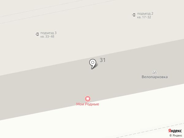 АКБ Экспресс-Волга на карте Астрахани