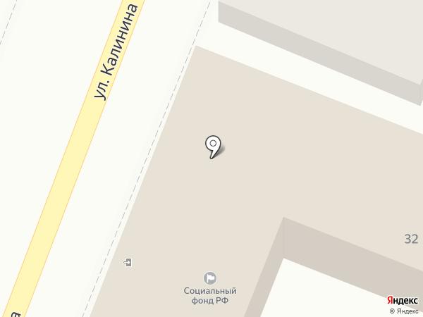 Управление пенсионного фонда РФ в Кировском районе г. Астрахани на карте Астрахани