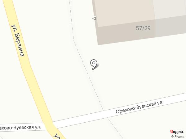 Салам на карте Астрахани