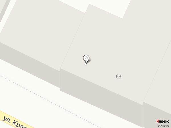 Аарон на карте Астрахани