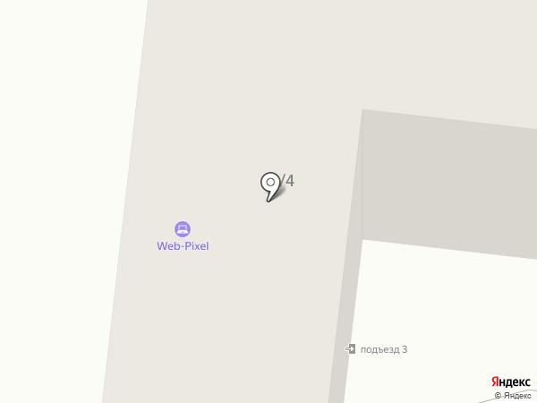 Банкомат, АКБ МОСОБЛБАНК на карте Астрахани