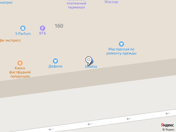 Магазин детской одежды и обуви на карте Астрахани