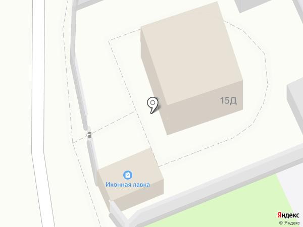 Православный приход храма Иоанна Воина г. Астрахани на карте Астрахани