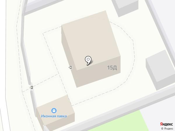 Приход храма Иоанна Воина г. Астрахани на карте Астрахани