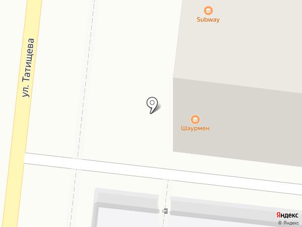 ШаурМен на карте Астрахани