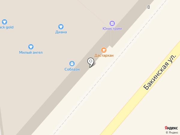 Дастархан на карте Астрахани