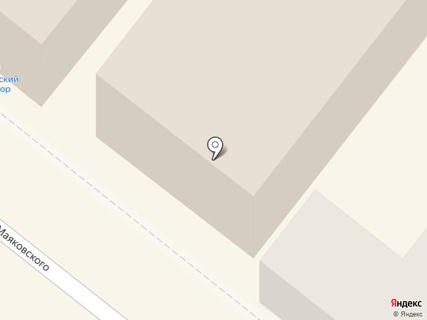 Ксюша на карте Астрахани