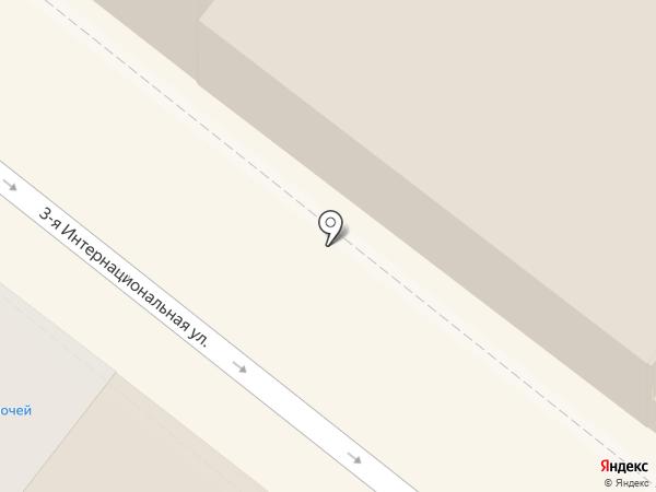 Магазин трикотажных изделий на карте Астрахани