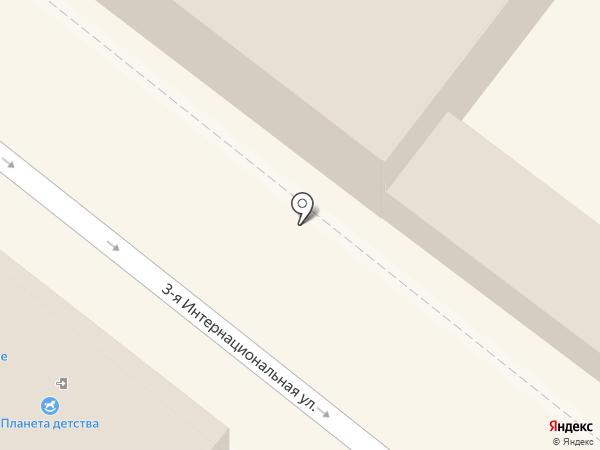Медина на карте Астрахани