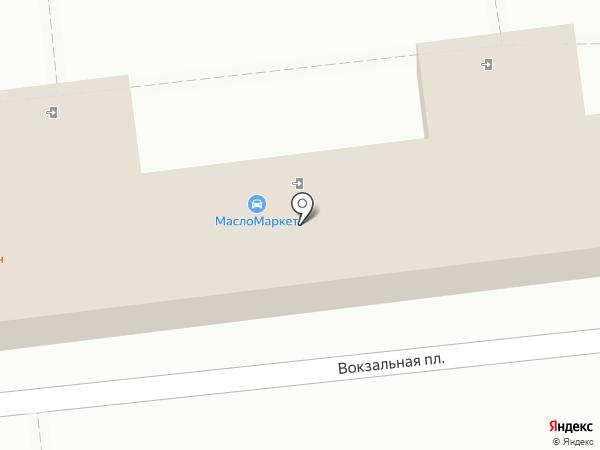 Контакт на карте Астрахани