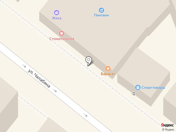 Авадан на карте Астрахани