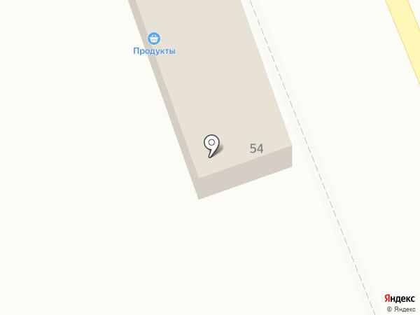Линиза на карте Осыпного Бугра