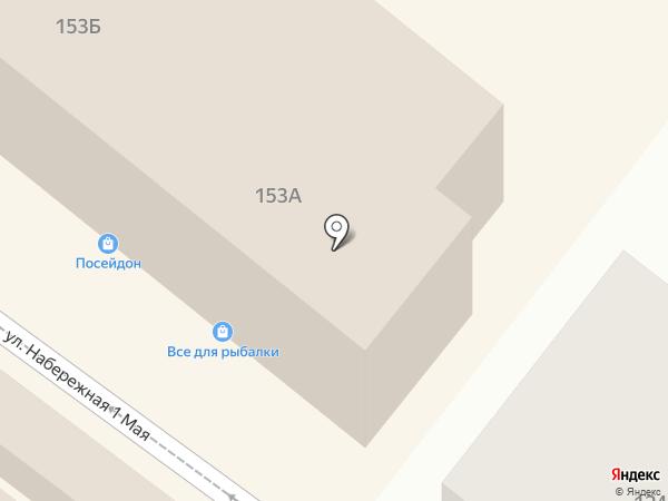 Адвокатский кабинет Никифоровой Л.В. на карте Астрахани