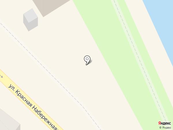 Зеленый Сад на карте Астрахани