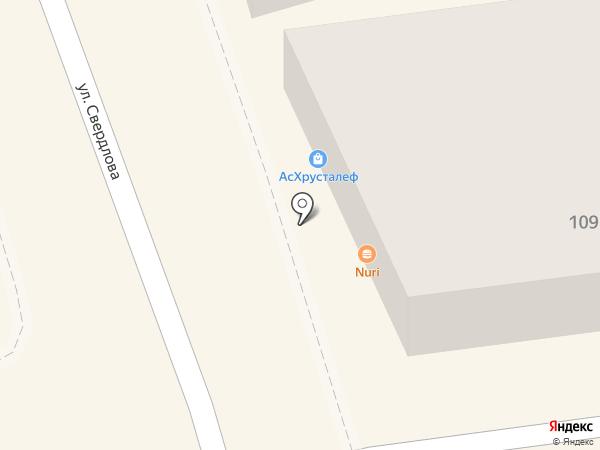 Сунна на карте Астрахани