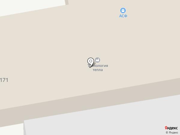 Авантаж на карте Астрахани