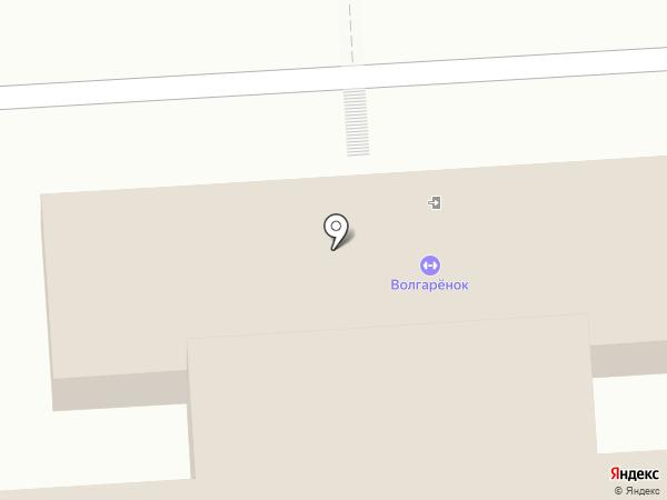 Спортивная школа олимпийского резерва им. В.А. Гладченко, ГБУ на карте Астрахани