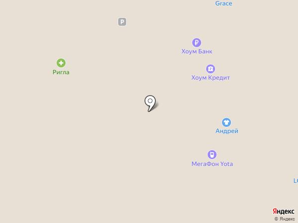 Yota на карте Астрахани
