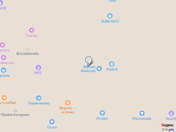 RED на карте Астрахани