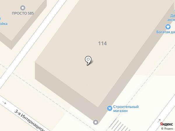 Торгово-монтажная фирма на карте Астрахани