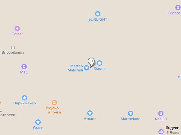 Carlo Pazolini на карте Астрахани